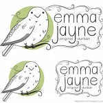 A new logo and business card for Emma Jayne
