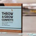Throw & Grow Confetti by Niko Niko