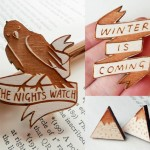 Pop Culture Wooden Jewellery