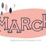 March Free Calendar & Planner Printable