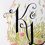 Custom Monogram Illustration
