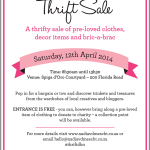 Trinkets & Treasures Thrift Sale