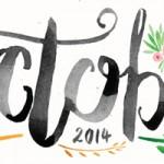 October 2014 Free Printable Calendar