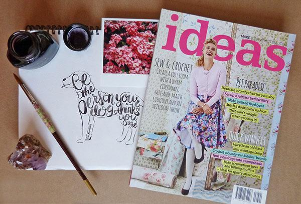 Hand Lettering for Ideas Magazine SA