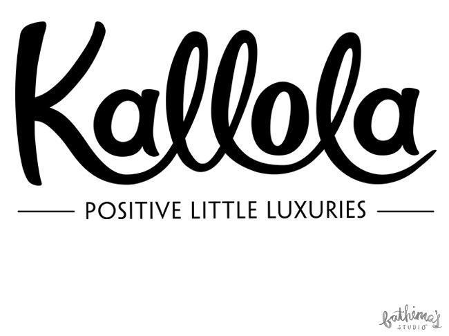 Kallola - Hand Lettered Logo Design