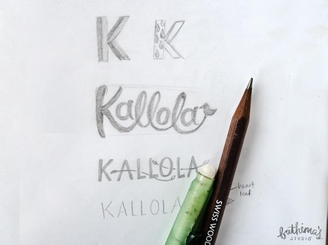 Kallola Logo Design