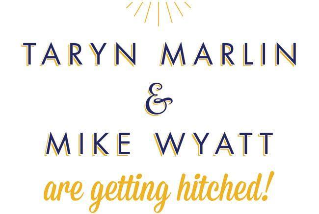 nautical typographic wedding stationery