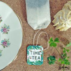 Printable Botanical Teabag Tags