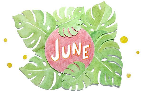 June 2016 free printable calendar planner
