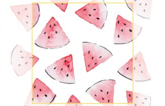 Foodles Daily Doodle Instagram Series - Watermelon