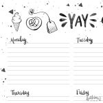 Yay Everyday A4 Weekly Planner