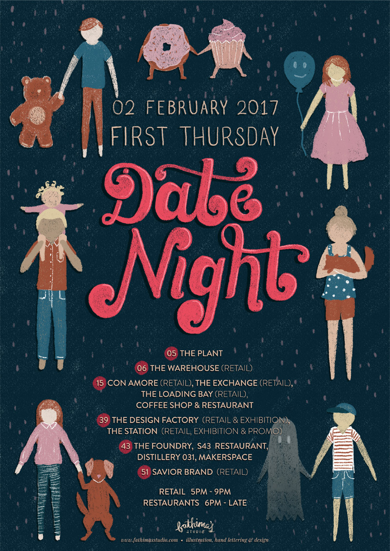 Durban First Thursday Date Night Poster